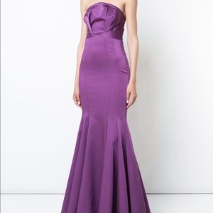 ZAC ZAC POSEN Nolita fitted gown